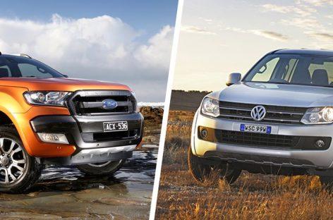 Volkswagen Amarok и Ford Ranger станут родными братьями