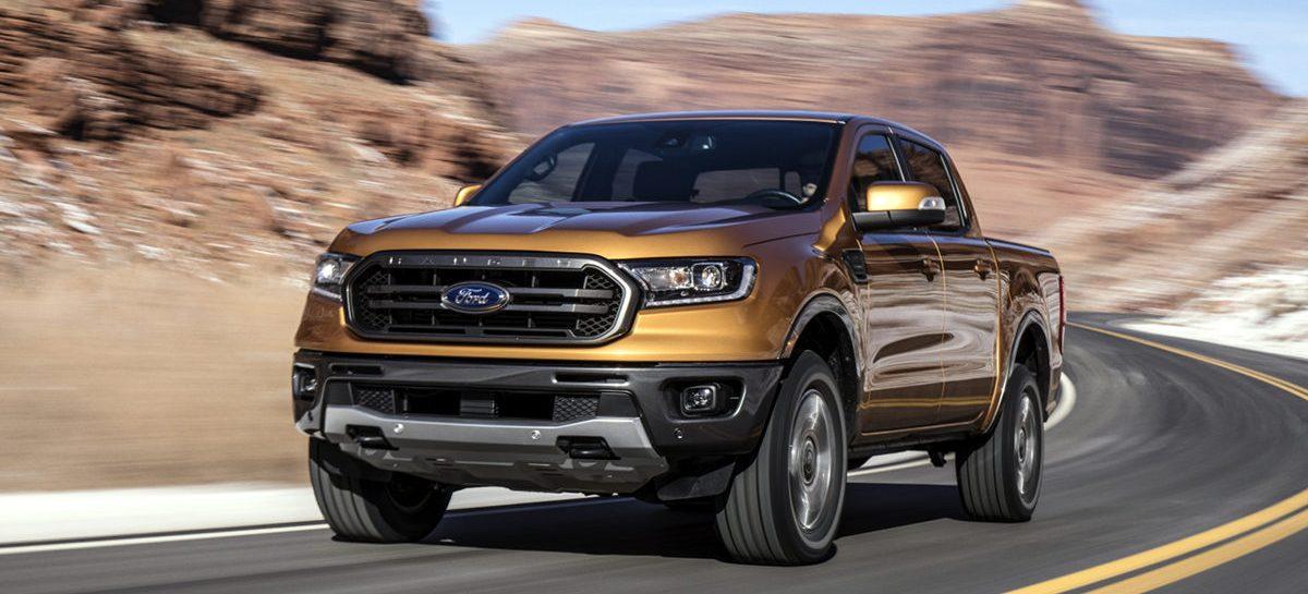 Новый Ford Ranger оснастят инновационной технологией мониторинга за прицепом