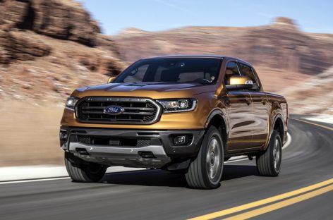 Ford представил обновленный пикап Ranger для европейского рынка