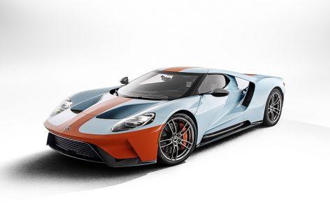 Ford показал новый GT Heritage Edition