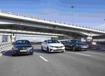 KIA объявляет о старте продаж обновленного седана бизнес-класса Optima