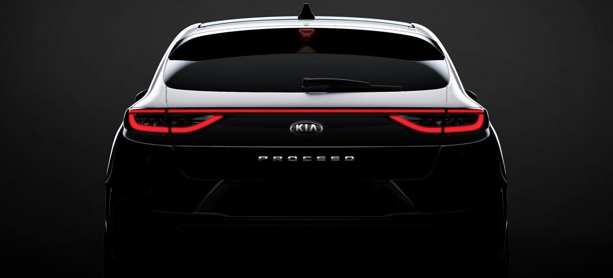 Kia раскрывает детали дизайна нового ProCeed