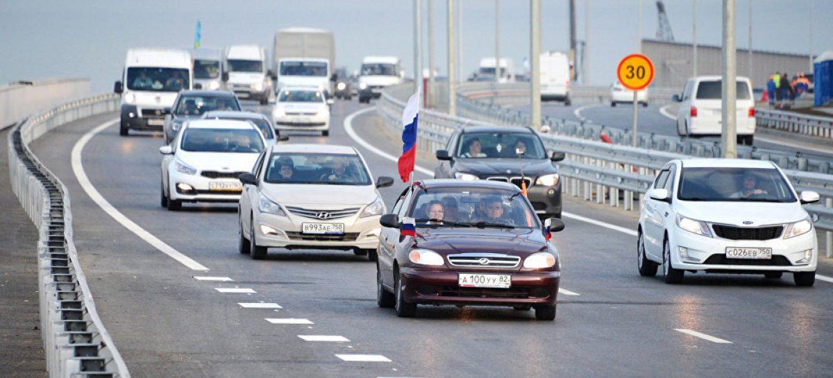 Большегрузы поедут в Крым в конце сентября