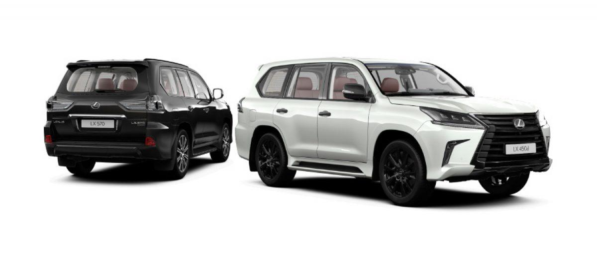 Lexus объявляет о начале приема заказов на новую специальную версию Black Vision Lexus LX