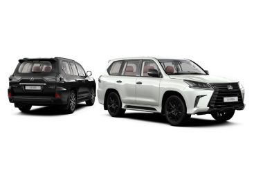 Lexus начинает продажи в России специальной версии Black Vision внедорожника LX