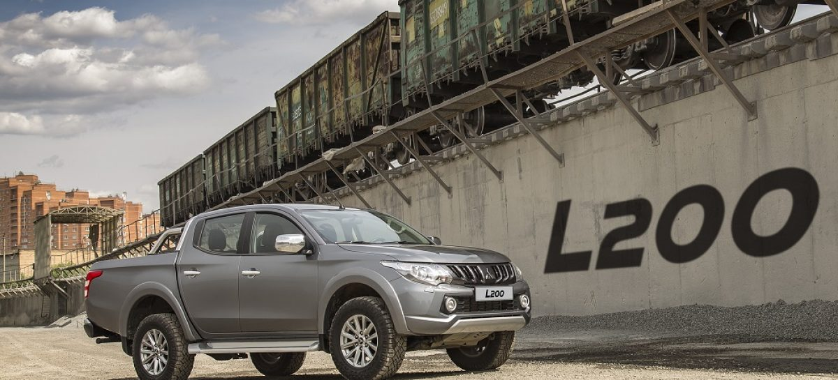 Mitsubishi L200 продолжает лидировать в сегменте по итогам первого полугодия