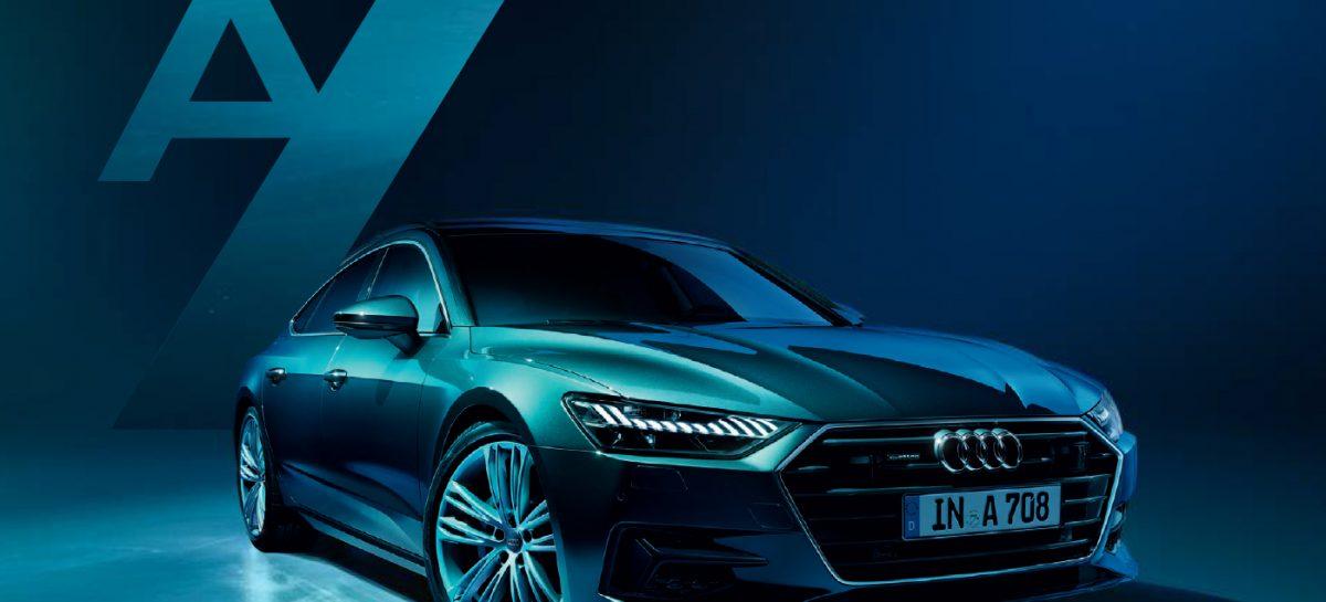 Audi покажет новый A7 в Гостинке