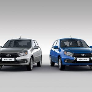 LADA Granta возглавила тройку самых популярных автомобилей России за ноябрь
