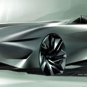 Концепт-кар Infiniti Prototype 10 предвосхищает будущее электромобиля