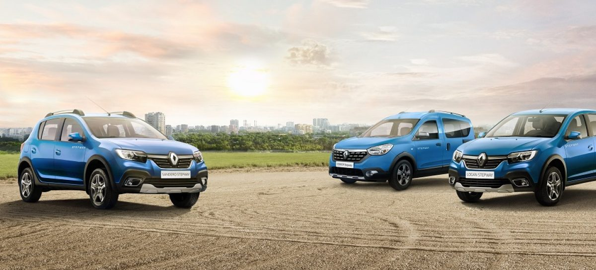 Renault Россия представляет новую Stepway серию
