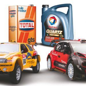Компании Total и Citroën отмечают 50-летие сотрудничества