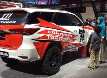 Особая версия Toyota Fortuner в обвесе от TRD
