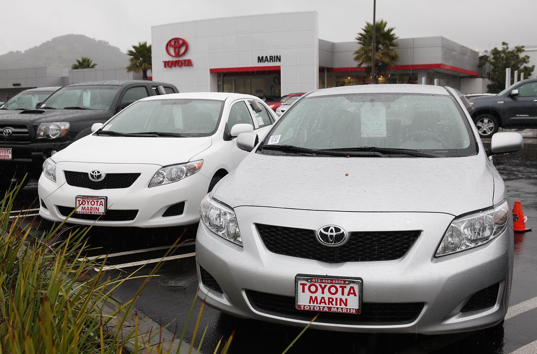 Toyota разгонялась сама по себе