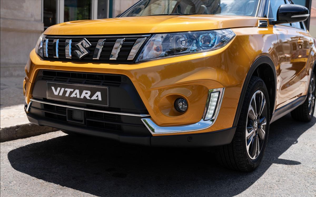 Suzuki Vitara 2018 - стильный экстерьер