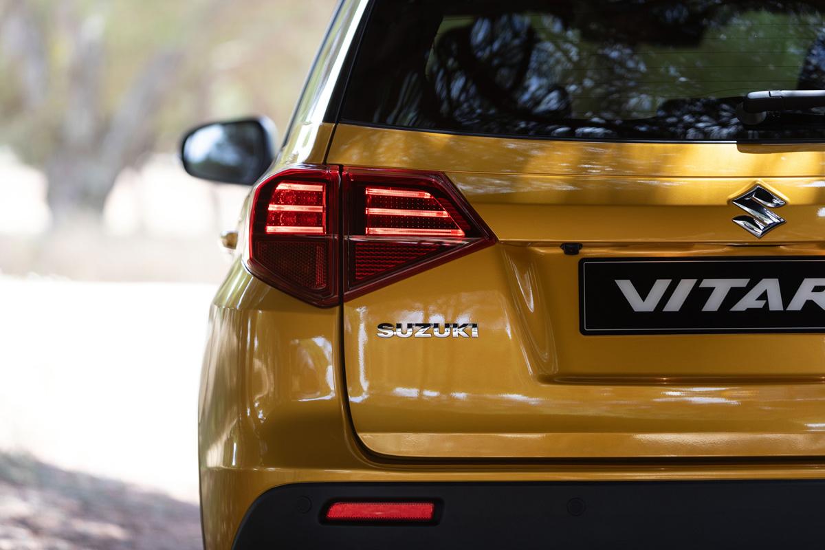Suzuki Vitara 2018 в новом дизайне