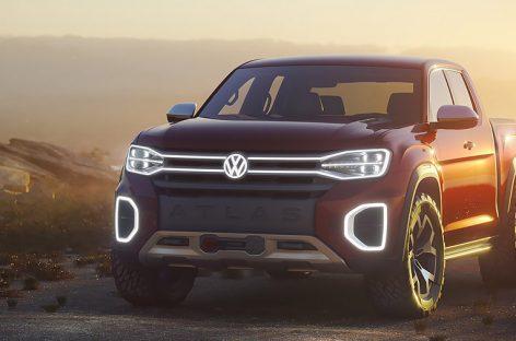 В Volkswagen обсудят возможность выпуска большого пикапа
