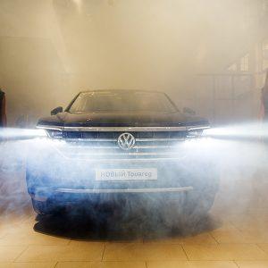 Цифровой шоу-рум Volkswagen «Форсаж Озерки»
