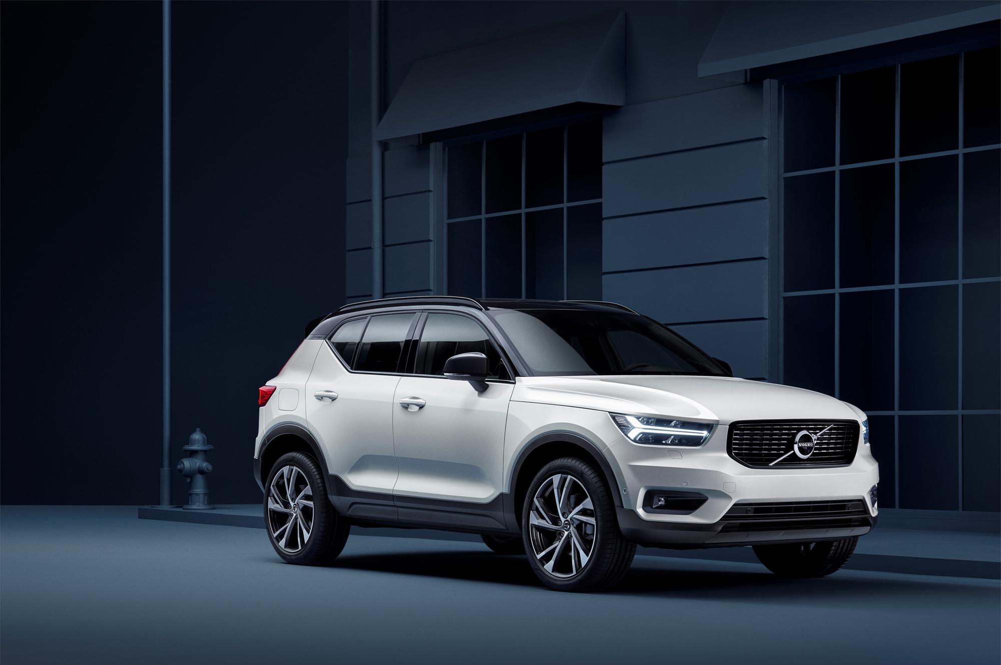 Volvo XC40 можно будет прошить на задний привод