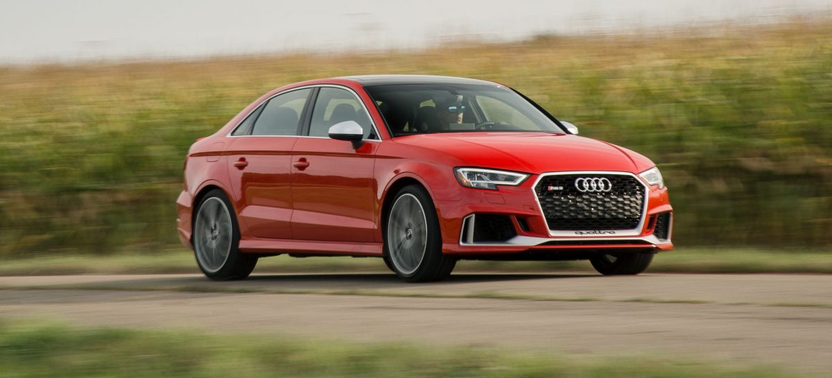Audi приостанавливает производство RS3