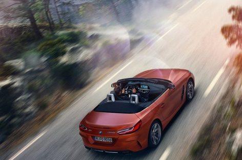 В Сети появились первые официальные фото нового BMW Z4