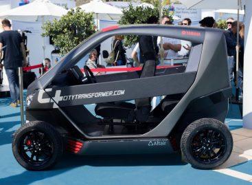 В Израиле представили складной автомобиль City Transformer