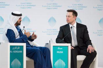 Илон Маск готов продать Tesla арабам