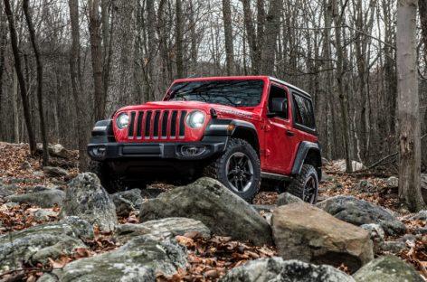 Новый Jeep Wrangler добрался до РФ