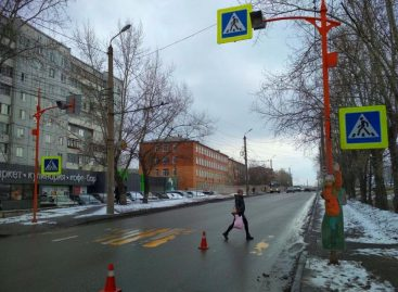 В Красноярске у пяти пешеходных переходов установят макеты детей