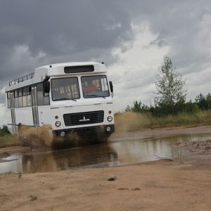 МАЗ выпустит автобус для плохих дорог
