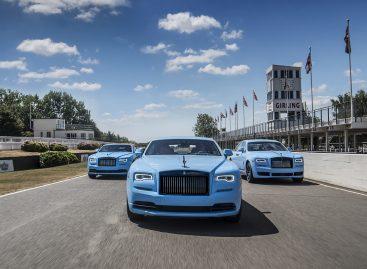 Rolls-Royce: новые коллекции Umbra, Adamas, Paradiso и Nebula на базе серии Black Badge
