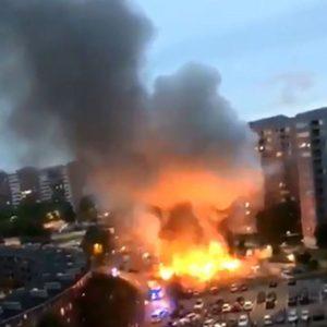 В Швеции беспрецедентные, массовые поджоги автомобилей (ВИДЕО!)