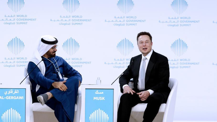 Elon Musk Saudi Arabia Илон Маск ведет переговоры с Саудовской Аравией