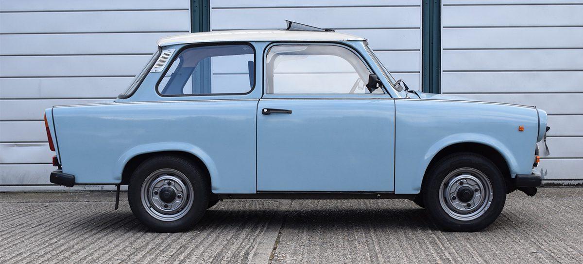Украинец переделал легенду ГДР в электромобиль