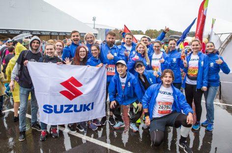 Suzuki Team на Московском Марафоне 2018