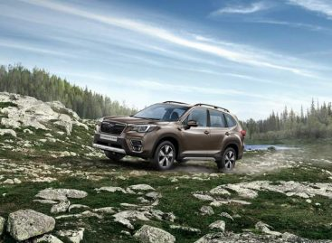 15 сентября Россия увидит новый Subaru Forester