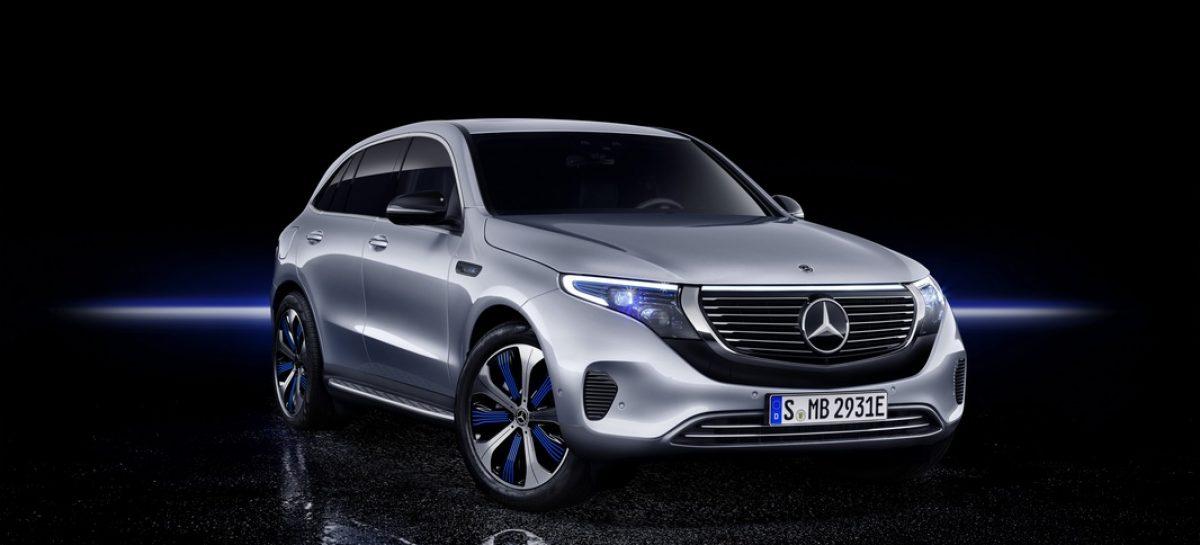 Mercedes-Benz EQC – первый электрокроссовер. Максимум подробностей