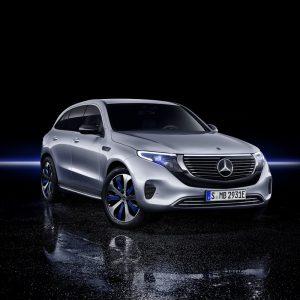 Mercedes-Benz EQC - первый электрокроссовер. Максимум подробностей