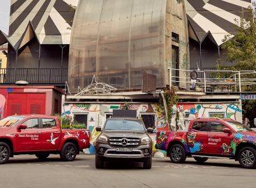 Mercedes-Benz Vans создает яркие мобильные арт-объекты на дорогах Москвы