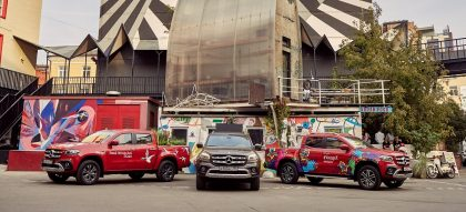 Mercedes-Benz Vans на дорогах Москвы 9