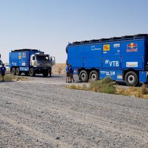 Ралли «Амуль-Хазар-2018»: экипаж Айрата Мардеева первый на этапе Икиуазак-Дарваза