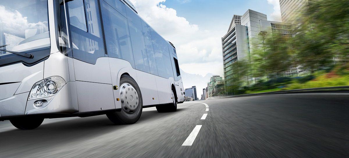 Первые автобусные шины Hankook для электробусов