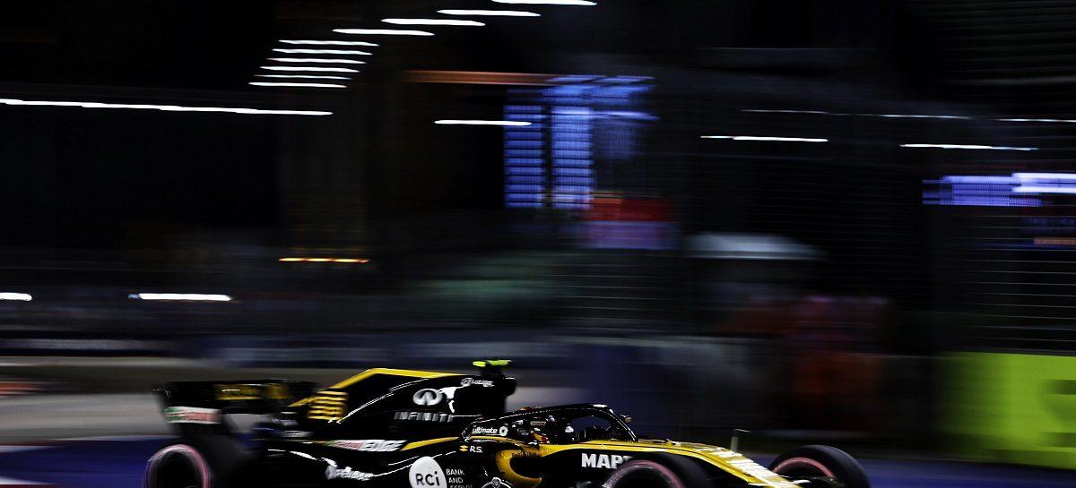 Renault Sport Formula One Team заработала пять очков в Сингапуре