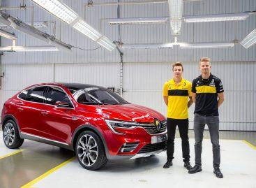 Нико Хюлькенберг и Артем Маркелов посетили московский завод Renault перед Гран-При России в Сочи