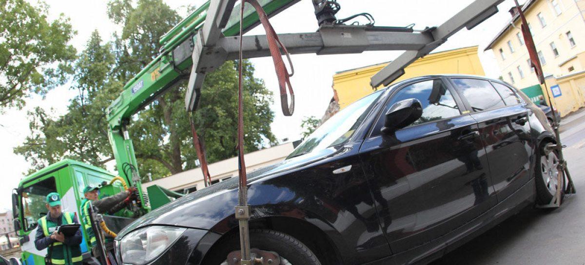 В Москве увеличили штраф за не оплату парковки и тарифы на эвакуацию
