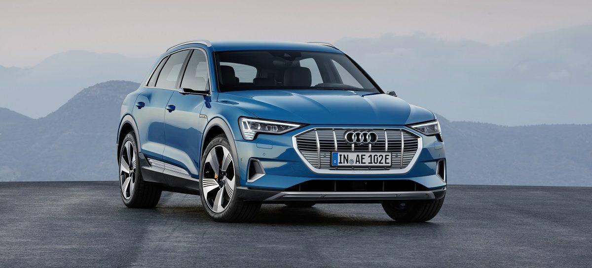 Электричеством теперь управляет Audi: мировая премьера Audi e-tron