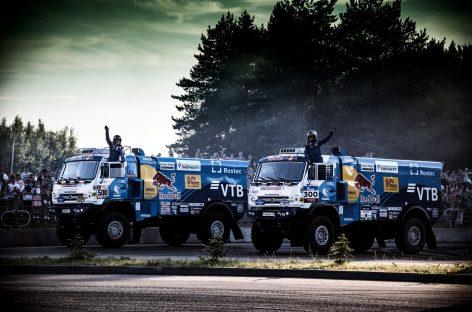 Экипаж Айрата Мардеева выигрывает третий этап ралли «Амуль-Хазар 2018»