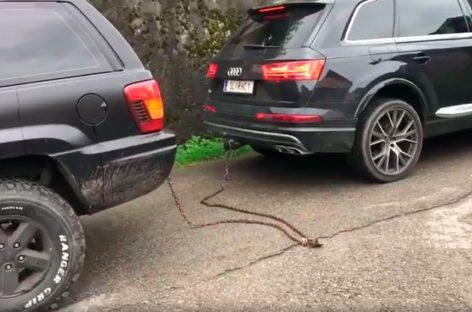 Кто кого – Jeep или Audi?