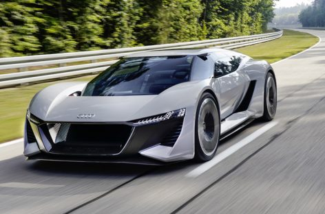 Audi выпустит электрический суперкар PB18 e-tron