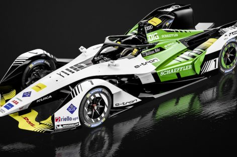 Formula E: Болиды Audi e-tron FE05 в составе команды Virgin Racing