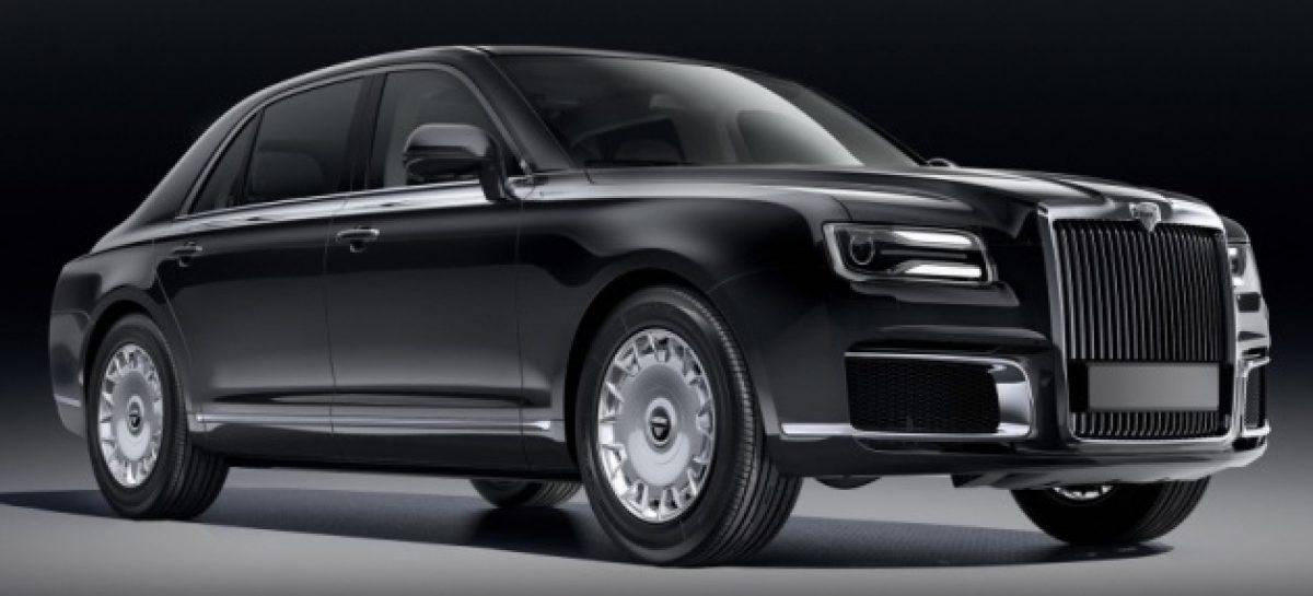 Новый русский лимузин Aurus Senat пройдёт доводочные испытания в Италии